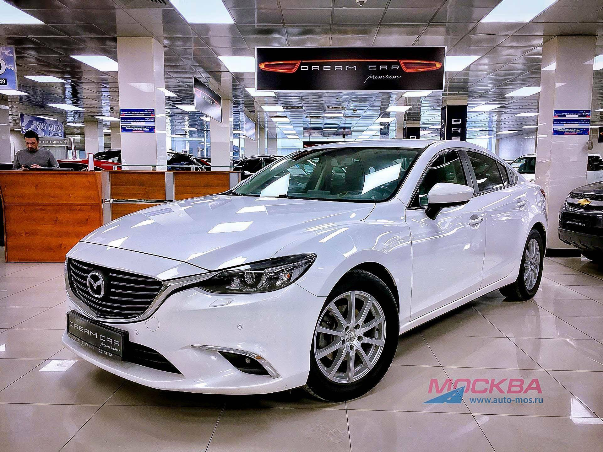 Обзор Mazda 6, 2.5 SKYACTIV-G AT (192 л.с.) 2015 год
