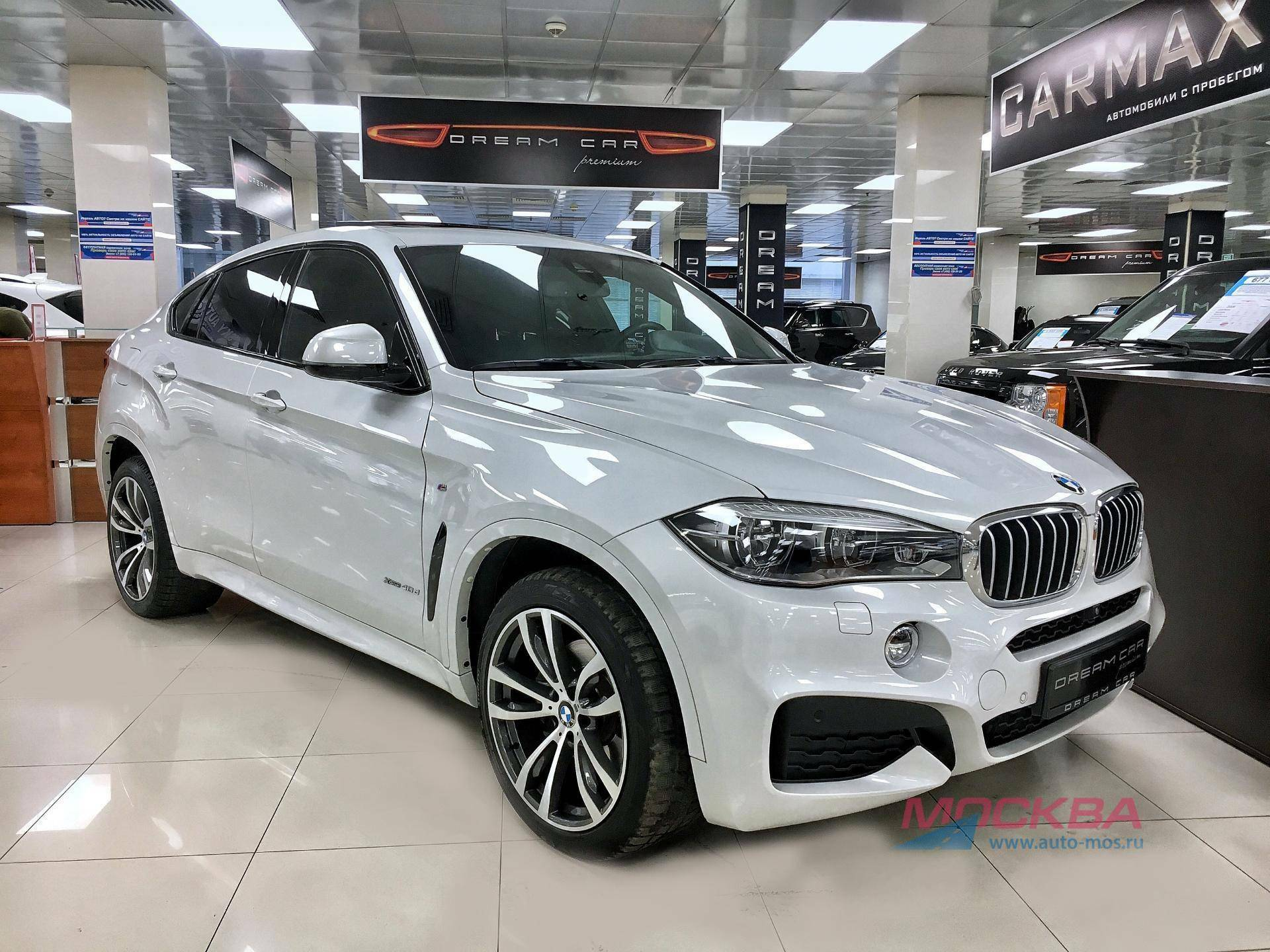 Обзор BMW X6 xDrive40d Steptronic (313 л.с.) 2017 год