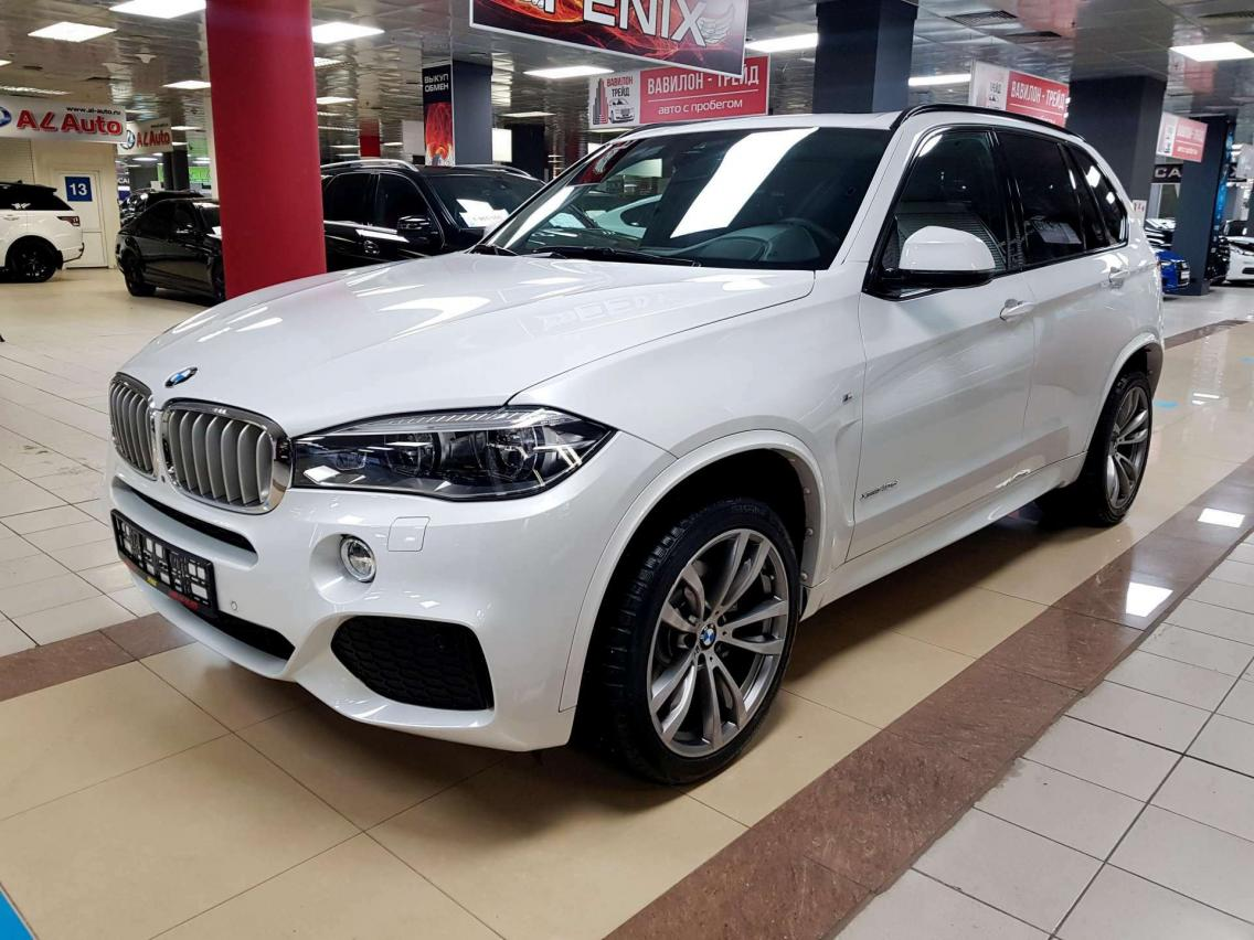 Фотография 1 BMW X5 F15 xDrive40d Steptronic (313 л.с.)  2016 X4XKS694900K79690 К975КК31 Белый