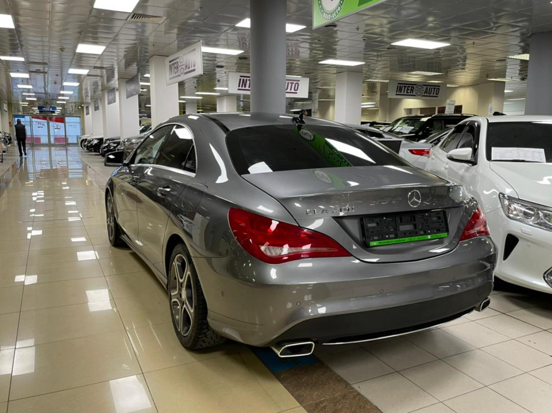 Фотография 5 Mercedes-Benz CLA-Класс C117 CLA 200 7G-DCT (156 л.с.)  2015 WDD1173431N234451 B238HB790 Серый
