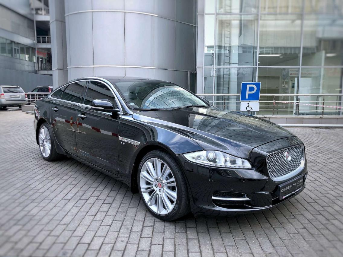 Фотография 3 Jaguar XJ X351 3.0 AT AWD LWB (340 л.с.)  2014 SAJAJ12H4F8V76857 В167МС198 Черный