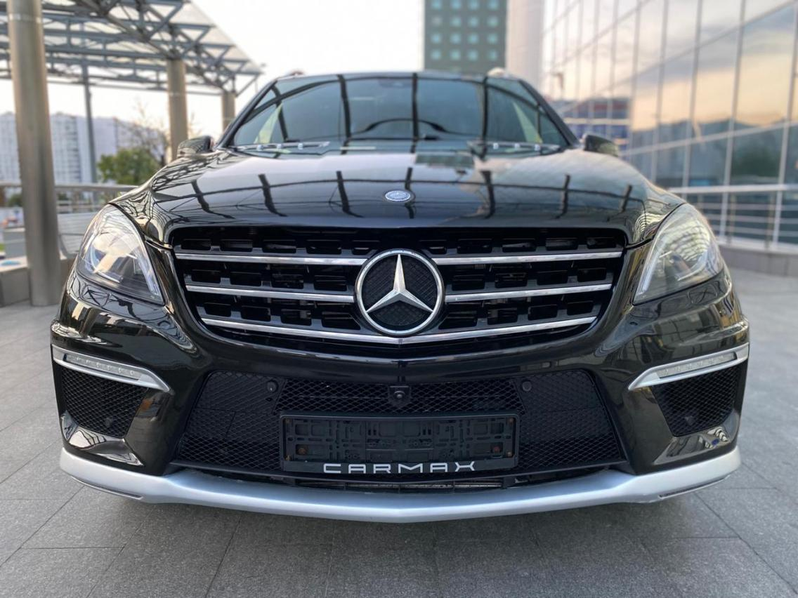 Фотография 2 Mercedes-Benz M-Класс W166 ML 63 AMG Speedshift Plus 7G-Tronic (525 л.с.)  2014 WDC1660741A433992 К660Ов799 Черный