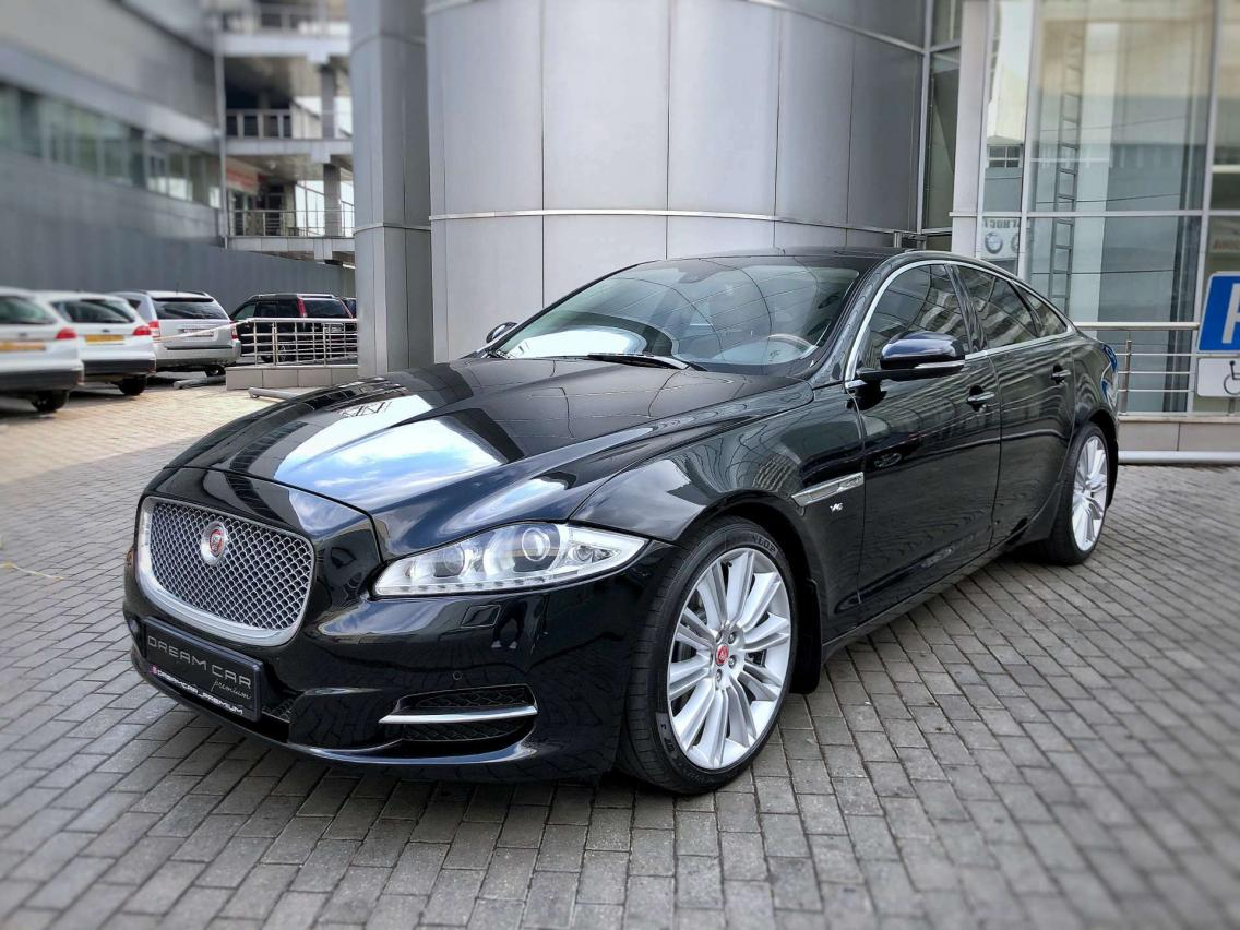 Фотография 1 Jaguar XJ X351 3.0 AT AWD LWB (340 л.с.)  2014 SAJAJ12H4F8V76857 В167МС198 Черный