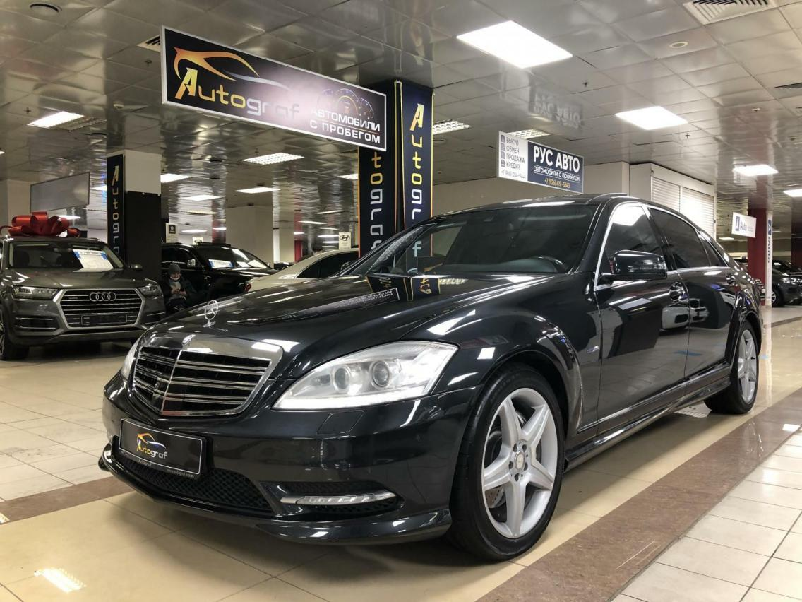 Фотография 1 Mercedes-Benz S-Класс W221 [рестайлинг] S 500 BlueEFFICIENCY 4MATIC 7G-Tronic (435 л.с.)  2011 WDD2211941A454249 К450ВК790 Черный