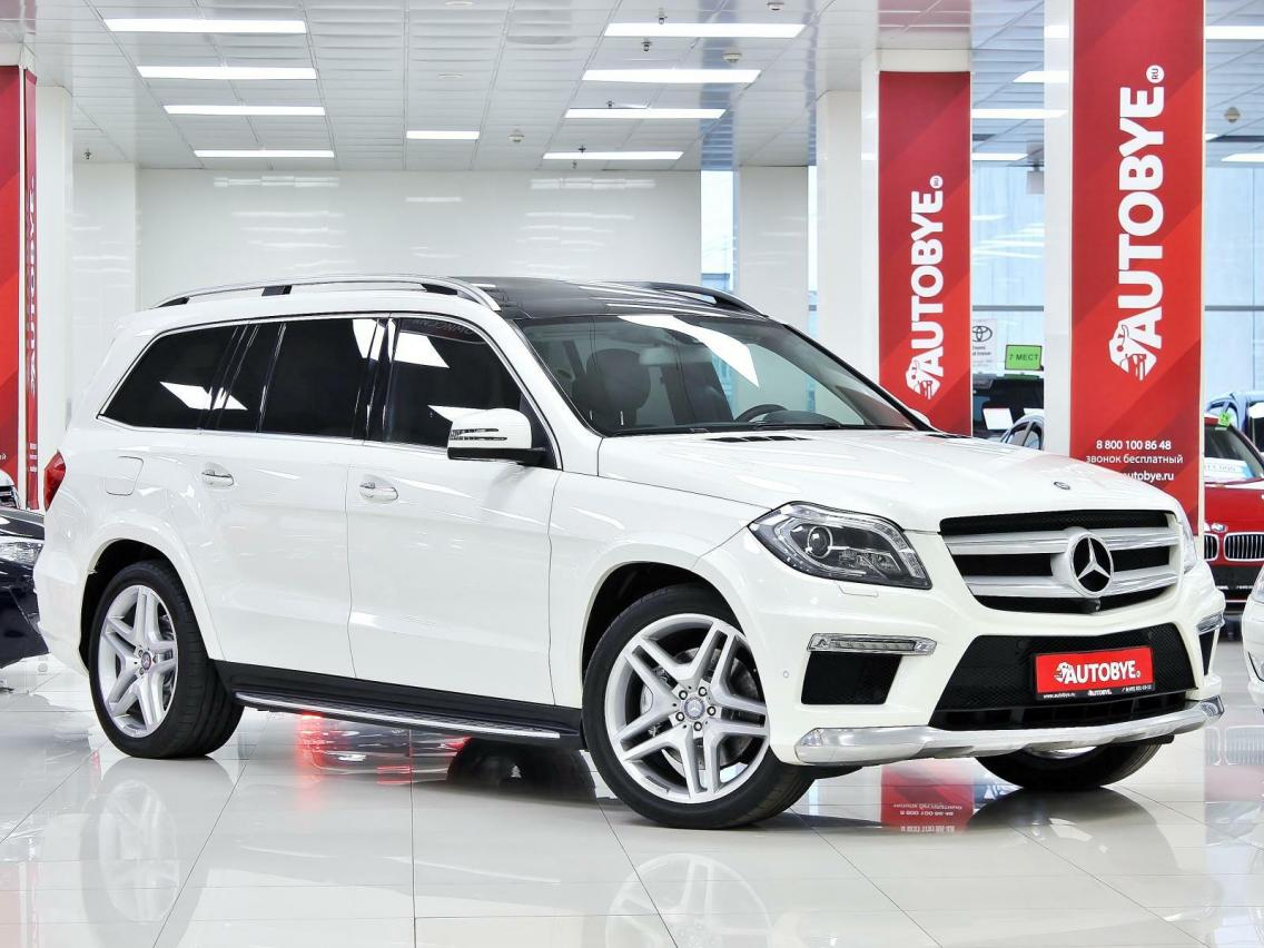 Фотография 3 Mercedes-Benz GL-Класс X166 GL 500 BlueEfficiency 7G-Tronic Plus 4Matic (435 л.с.)  2014 WDC1668731A344678 х001ес750 Белый