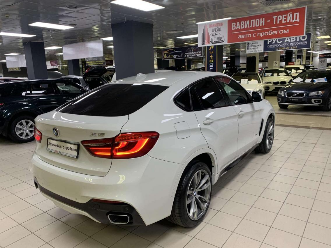 Фотография 4 BMW X6 F16 xDrive40d Steptronic (313 л.с.)  2019 WBAKV410700Z75219 А372УМ174 Белый
