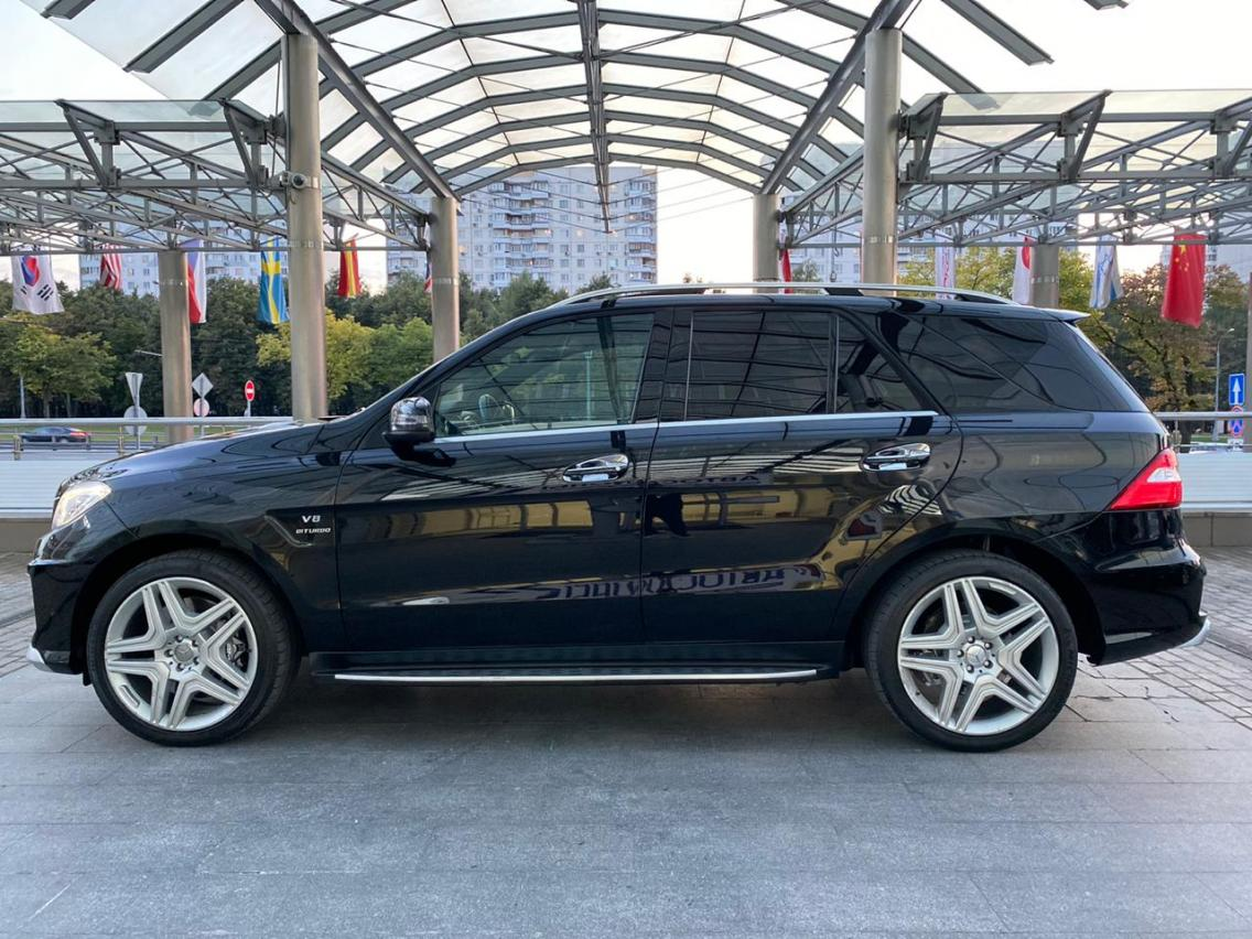Фотография 7 Mercedes-Benz M-Класс W166 ML 63 AMG Speedshift Plus 7G-Tronic (525 л.с.)  2014 WDC1660741A433992 К660Ов799 Черный