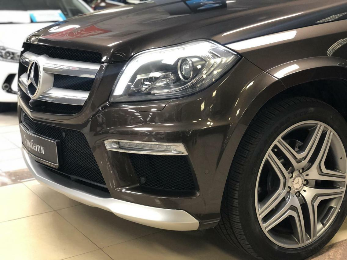 Фотография 6 Mercedes-Benz GL-Класс X166 GL 350 BlueTec 7G-Tronic Plus 4Matic (249 л.с.)  2014 WDC1668241A507136 Н366ОХ777 Коричневый