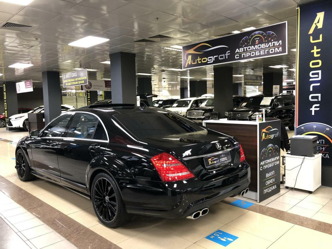 Фотография 4 Mercedes-Benz S-Класс W221 [рестайлинг] S 500 4Matic BlueEfficiency AT длинная база (435 л.с.)  2011 WDD2211941A436673 O700XH77 Черный
