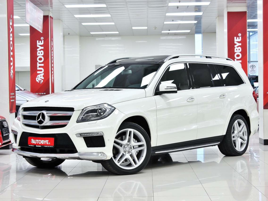 Фотография 2 Mercedes-Benz GL-Класс X166 GL 500 BlueEfficiency 7G-Tronic Plus 4Matic (435 л.с.)  2014 WDC1668731A344678 х001ес750 Белый