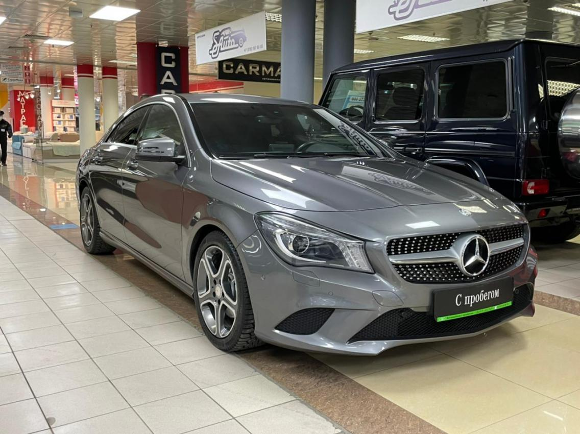 Фотография 3 Mercedes-Benz CLA-Класс C117 CLA 200 7G-DCT (156 л.с.)  2015 WDD1173431N234451 B238HB790 Серый