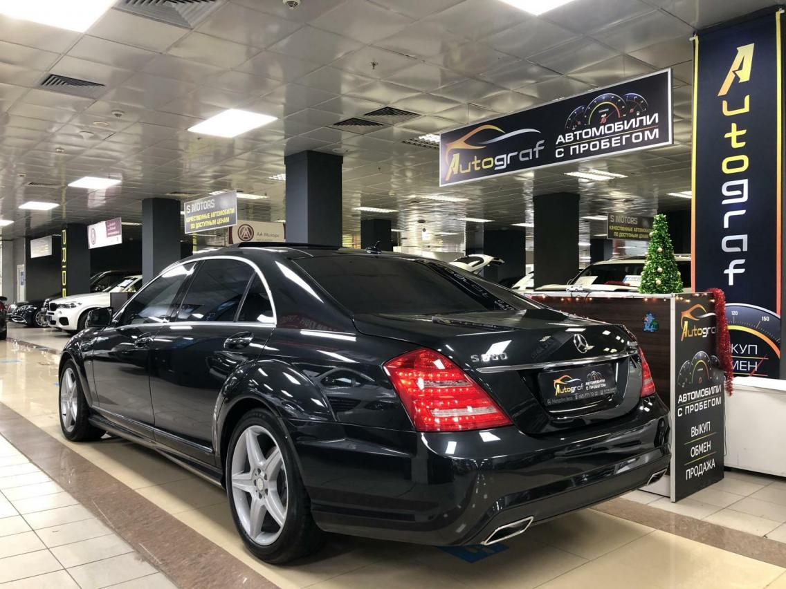 Фотография 4 Mercedes-Benz S-Класс W221 [рестайлинг] S 500 BlueEFFICIENCY 4MATIC 7G-Tronic (435 л.с.)  2011 WDD2211941A454249 К450ВК790 Черный