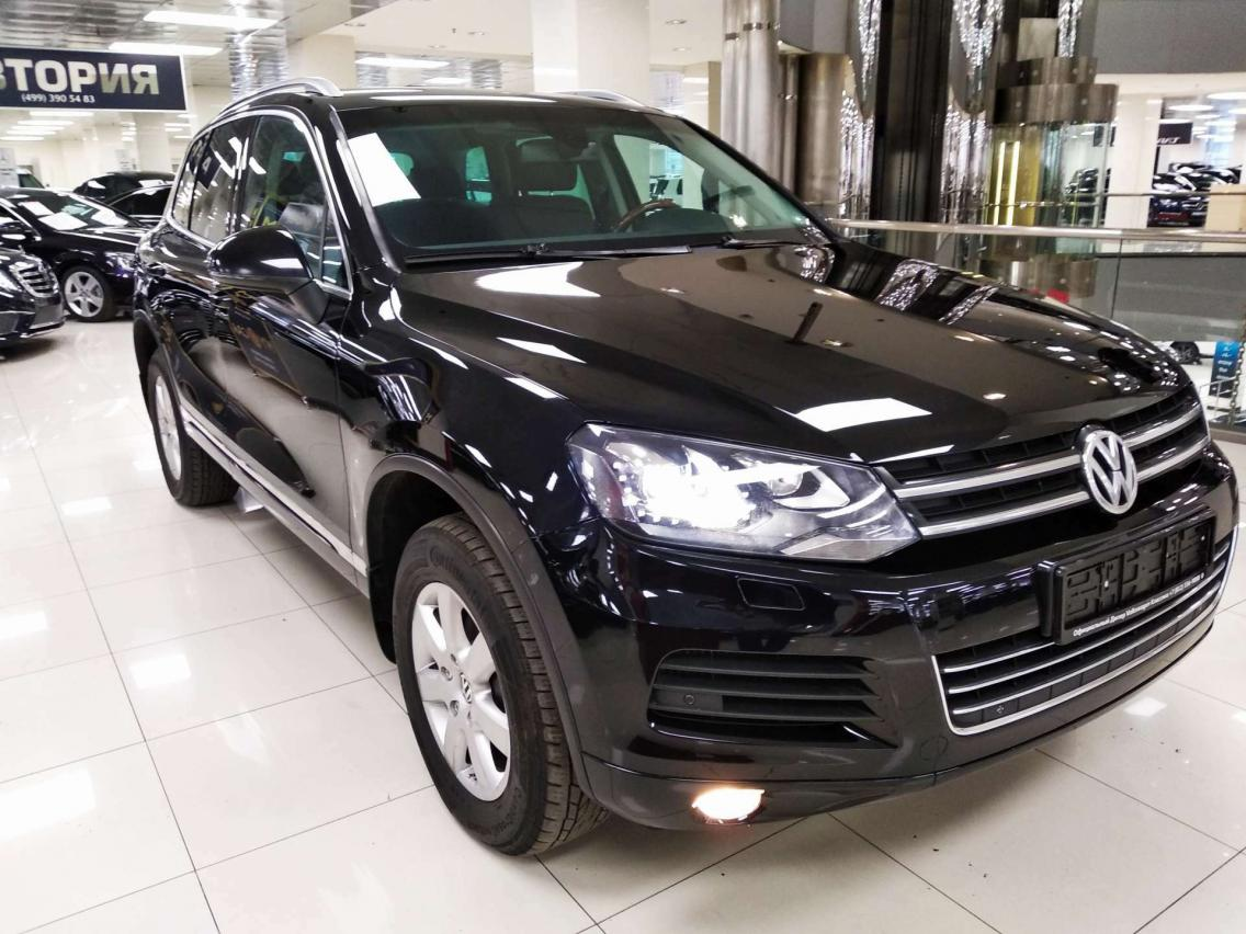 Фотография 3 Volkswagen Touareg 2 поколение 3.0 TDI Tiptronic 4Motion (204 л.с.)  2012 XW8ZZZ7PZDG000794 В003МЕ178 Черный