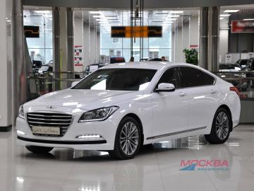 Изображение к статье'Обзор Hyundai Genesis, 3.0 AT AWD (249 л.с.) 2015 года'