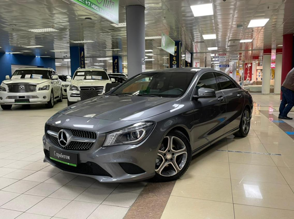Фотография 1 Mercedes-Benz CLA-Класс C117 CLA 200 7G-DCT (156 л.с.)  2015 WDD1173431N234451 B238HB790 Серый