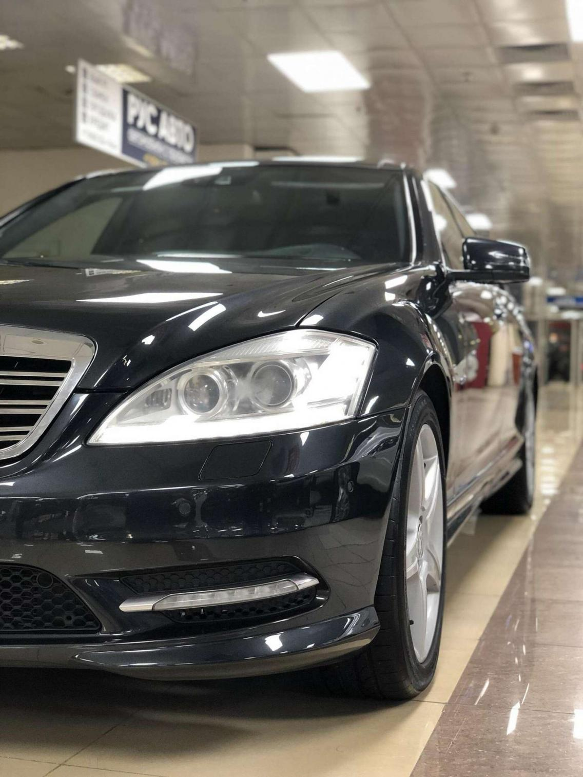 Фотография 5 Mercedes-Benz S-Класс W221 [рестайлинг] S 500 BlueEFFICIENCY 4MATIC 7G-Tronic (435 л.с.)  2011 WDD2211941A454249 К450ВК790 Черный