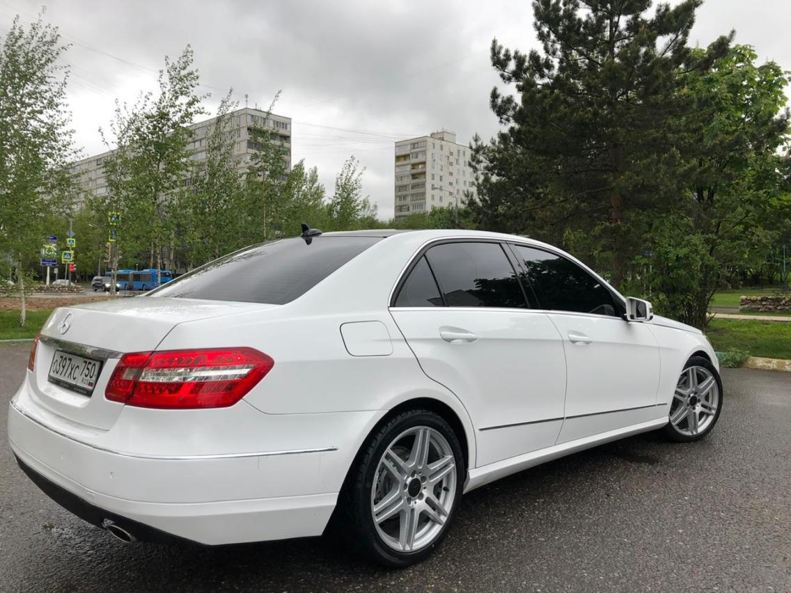 Фотография 6 Mercedes-Benz E-Класс W212/S212/C207/A207 E 350 4MATIC 7G-Tronic Plus (272 л.с.)  2011 WDD2120871A426086 О397ХС750 Белый