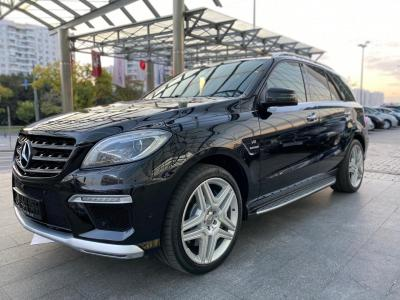 Автомобиль ML 63 AMG Speedshift Plus 7G-Tronic (525 л.с.)