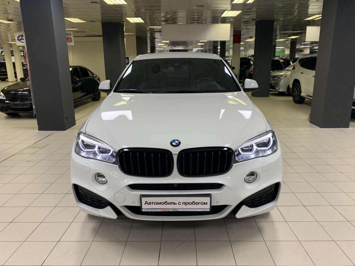 Фотография 2 BMW X6 F16 xDrive40d Steptronic (313 л.с.)  2019 WBAKV410700Z75219 А372УМ174 Белый