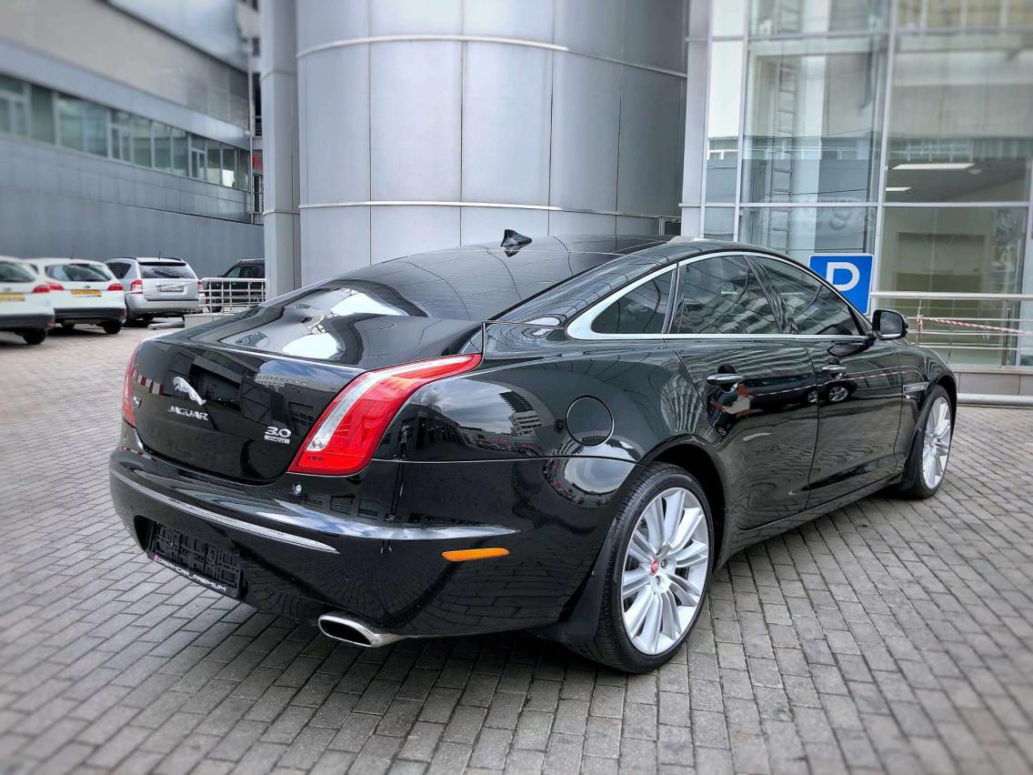 Фотография 6 Jaguar XJ X351 3.0 AT AWD LWB (340 л.с.)  2014 SAJAJ12H4F8V76857 В167МС198 Черный