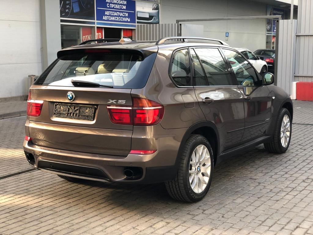 Фотография 4 BMW X5 E70 [рестайлинг] xDrive30d Steptronic (245 л.с.)  2011 WBAZW41060L826827 у044он799 Коричневый