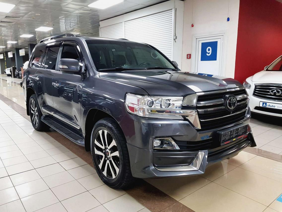 Фотография 8 Toyota Land Cruiser J200 [2-й рестайлинг] 4.5 TD AT (249 л.с.)  2019 JTMCV02J404278378 О235СТ69 Серый