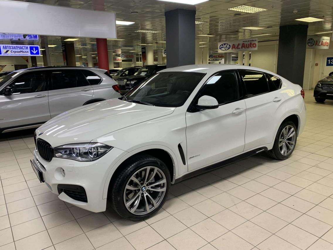 Фотография 3 BMW X6 F16 xDrive40d Steptronic (313 л.с.)  2019 WBAKV410700Z75219 А372УМ174 Белый