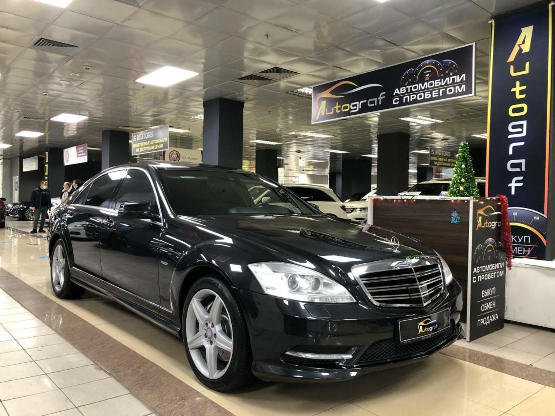 Фотография 2 Mercedes-Benz S-Класс W221 [рестайлинг] S 500 BlueEFFICIENCY 4MATIC 7G-Tronic (435 л.с.)  2011 WDD2211941A454249 К450ВК790 Черный