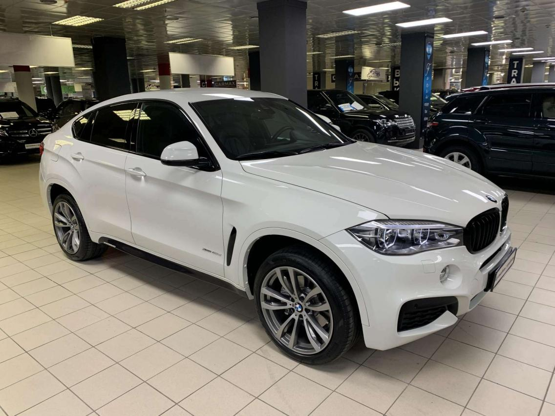 Фотография 1 BMW X6 F16 xDrive40d Steptronic (313 л.с.)  2019 WBAKV410700Z75219 А372УМ174 Белый